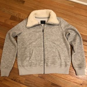 NEW Abercrombie & Fitch Sherpa Jacket
